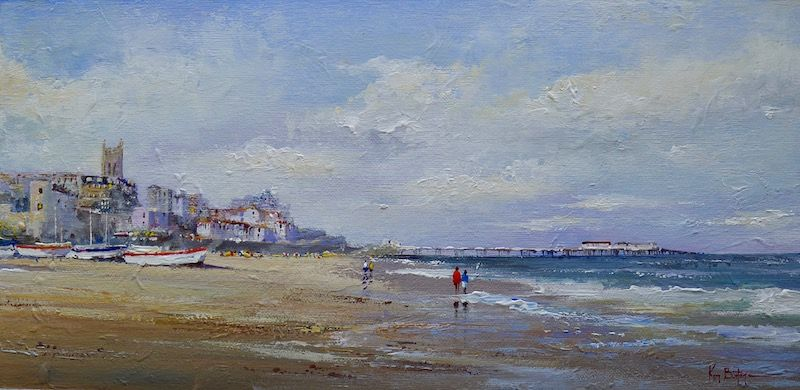 Painting, Cromer, Norfolk