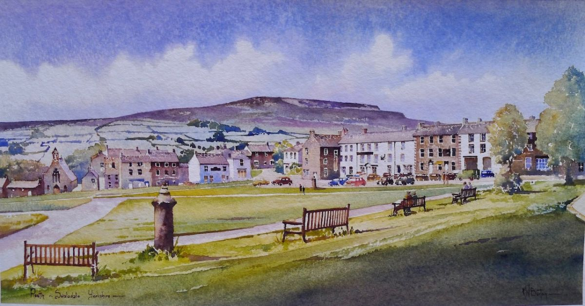 Reeth, Swaledale, North Yorkshire, Print