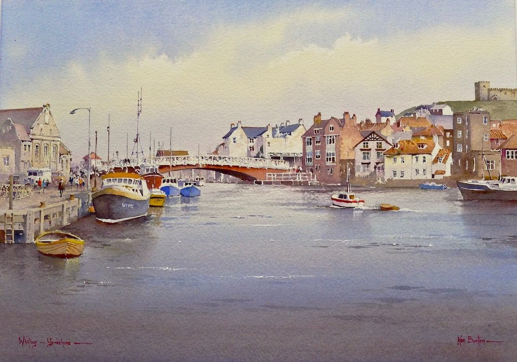 Whitby, Yorkshire, watercolour